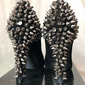 Sam Edelman dudes studded pumps